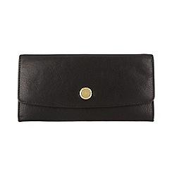 Conkca London - Oxford black 'Imogen' leather purse