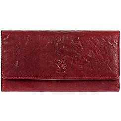 Conkca London - Red 'Rhona' cowhide RFID purse