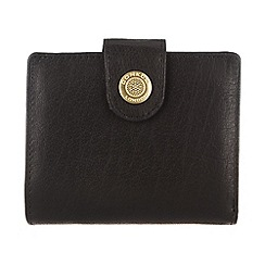 Conkca London - Oxford black 'Caris' small leather purse