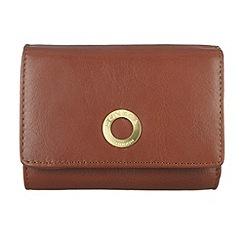 Conkca London - Cognac 'Edith' veg-tanned leather purse
