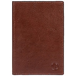Pure Luxuries London - Brown 'Pilot' finest natural leather RFID passport wallet
