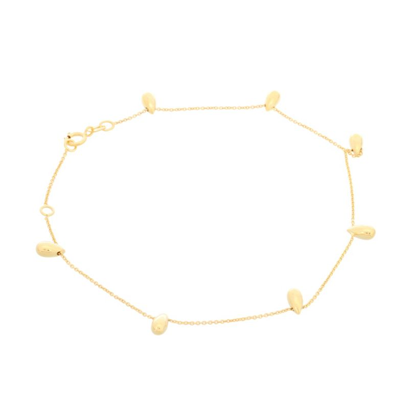 Pure Luxuries London Gift boxed Georgina 9ct yellow gold