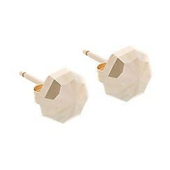 Pure Luxuries London - Gift packaged 9ct yellow gold 'Miranda' Octagonal Earrings