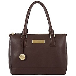 Pure Luxuries London - Brown 'Jodie' fine leather bag - Deluxe Collection