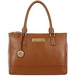 Pure Luxuries London - Tan 'Jodie' fine leather bag - Deluxe Collection