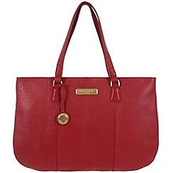 Pure Luxuries London - Red 'Jemima' leather bag - Deluxe Collection