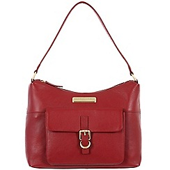 Pure Luxuries London - Red 'Cherry' leather bag - Deluxe Collection