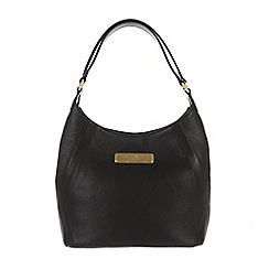 Pure Luxuries London - Black 'Catriona' leather bag - Deluxe Collection