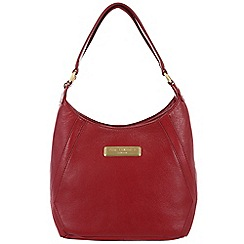 Pure Luxuries London - Red 'Catriona' fine leather bag - Deluxe Collection
