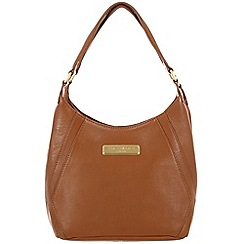 Pure Luxuries London - Tan 'Catriona' fine leather bag - Deluxe Collection