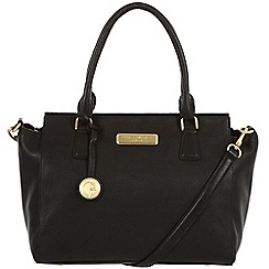 Pure Luxuries London - Black 'Jasmine' leather bag - Deluxe Collection