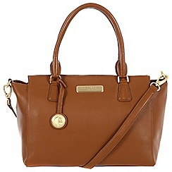 Pure Luxuries London - Tan 'Jasmine' leather bag - Deluxe Collection