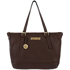 Pure Luxuries London - Brown fine leather bag - Deluxe Collection