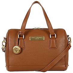 Pure Luxuries London - Tan 'Dahlia' fine leather bag - Deluxe Collection