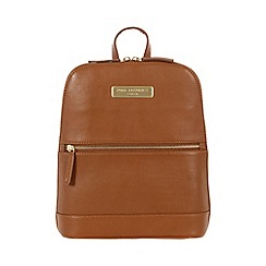 Pure Luxuries London - Tan 'Ava' leather backpack - Deluxe Collection