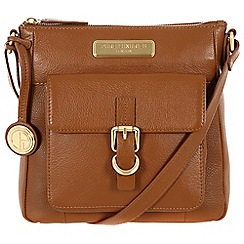 Pure Luxuries London - Tan 'Libbi' leather bag - Deluxe Collection