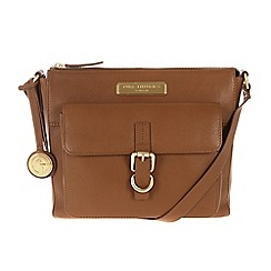 Pure Luxuries London - Tan 'Finola' leather bag - Deluxe Collection