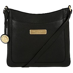 Pure Luxuries London - Black 'Kara' leather bag - Deluxe Collection
