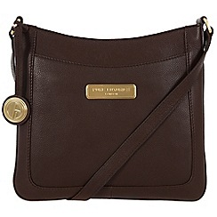 Pure Luxuries London - Brown 'Kara' leather bag - Deluxe Collection
