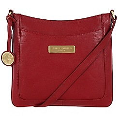 Pure Luxuries London - Red 'Kara' leather bag - Deluxe Collection