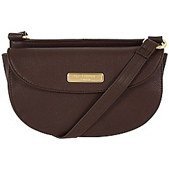 Pure Luxuries London - Brown 'Maya' leather bag - Deluxe Collection