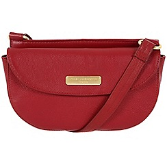 Pure Luxuries London - Red 'Maya' leather bag - Deluxe Collection
