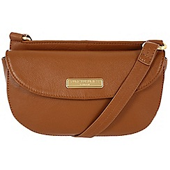 Pure Luxuries London - Tan 'Maya' leather bag - Deluxe Collection
