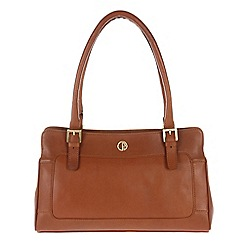 Pure Luxuries London - Nutmeg 'Abingdon' lightweight leather handbag
