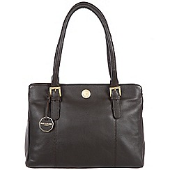 Pure Luxuries London - Brown 'Hendon' fine natural leather bag
