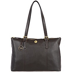 Pure Luxuries London - Brown 'Amersham' fine natural leather bag