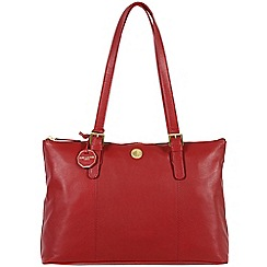 Pure Luxuries London - Red 'Amersham' fine natural leather bag