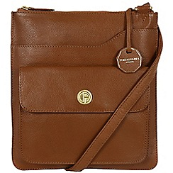 Pure Luxuries London - Chestnut 'Winchester' fine natural leather bag