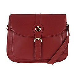 Pure Luxuries London - Red 'Kirkham' fine leather mini bag