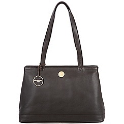 Pure Luxuries London - Brown 'Silverdale' fine natural leather bag