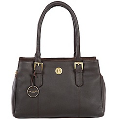 Pure Luxuries London - Brown 'Polperro' fine natural leather bag