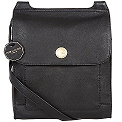 Pure Luxuries London - Black 'Ludlow' fine natural leather bag