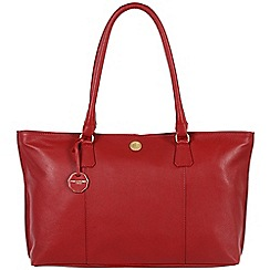 Pure Luxuries London - Red 'Sherbourne' fine natural leather bag