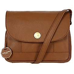 Pure Luxuries London - Chestnut 'Bray' fine natural leather bag