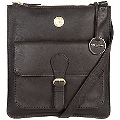 Pure Luxuries London - Brown 'Stow' fine natural leather bag