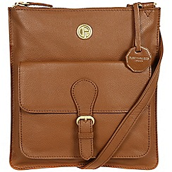 Pure Luxuries London - Chestnut 'Stow' fine natural leather bag