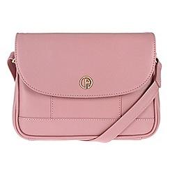Pure Luxuries London - Pink 'Bollington' fine leather mini bag