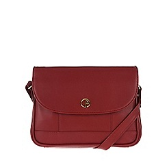 Pure Luxuries London - Red 'Bollington' fine leather mini bag