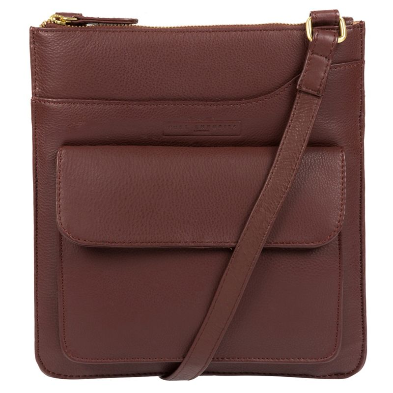 Pure Luxuries London - Brown Oban Soft Cowhide Leather