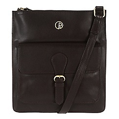 Pure Luxuries London - Brown 'Swanage' fine leather bag