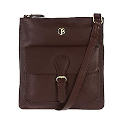 Pure Luxuries London - Burgundy 'Swanage' fine leather bag