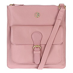 Pure Luxuries London - Pink 'Swanage' fine leather bag