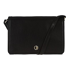 Pure Luxuries London - Black 'Zola' fine natural leather bag