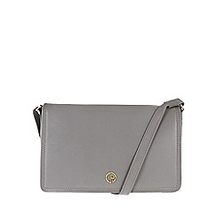 Pure Luxuries London - Grey 'Zola' fine natural leather bag