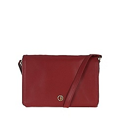 Pure Luxuries London - Red 'Zola' fine natural leather bag