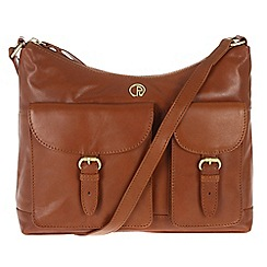 Pure Luxuries London - Nutmeg 'Corbridge' fine natural leather bag